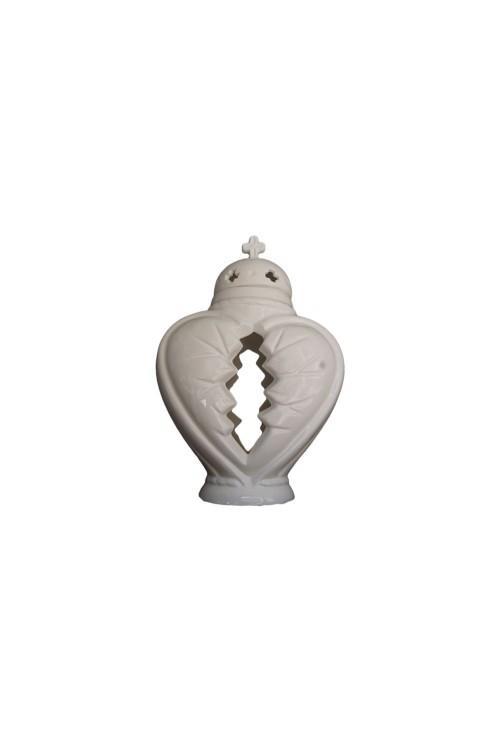 Znicze ceramiczne duże serce
