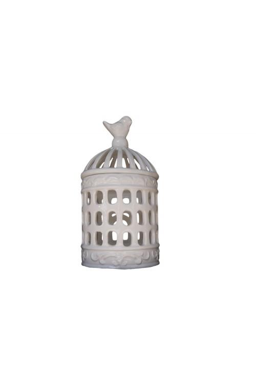 Lampion ceramiczny dekoracyjny