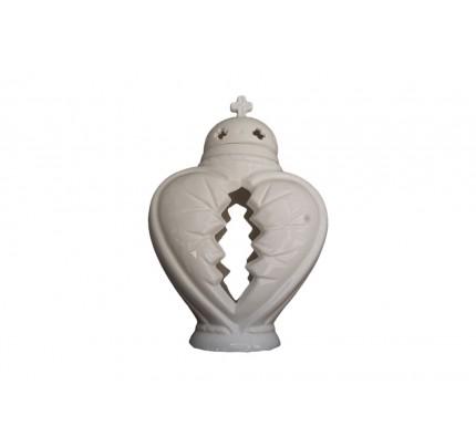 Znicz ceramiczny serce - HIT!!!